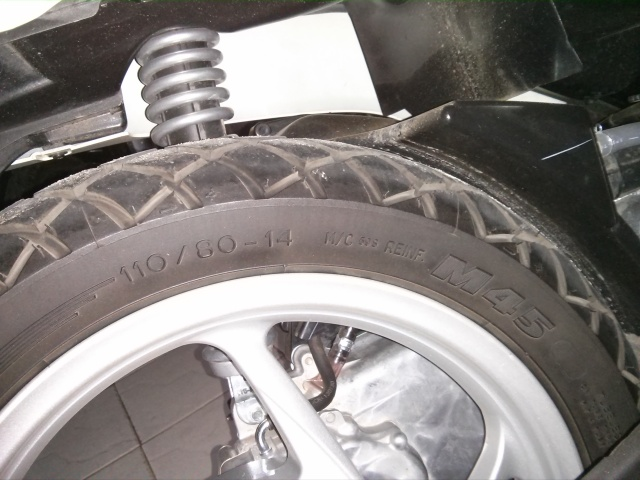 Michelin M45 samping-2