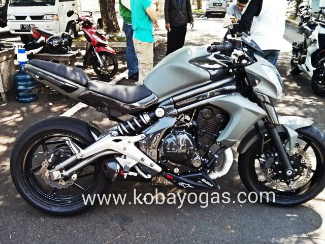 Test Ride Kawasaki ER6N 3