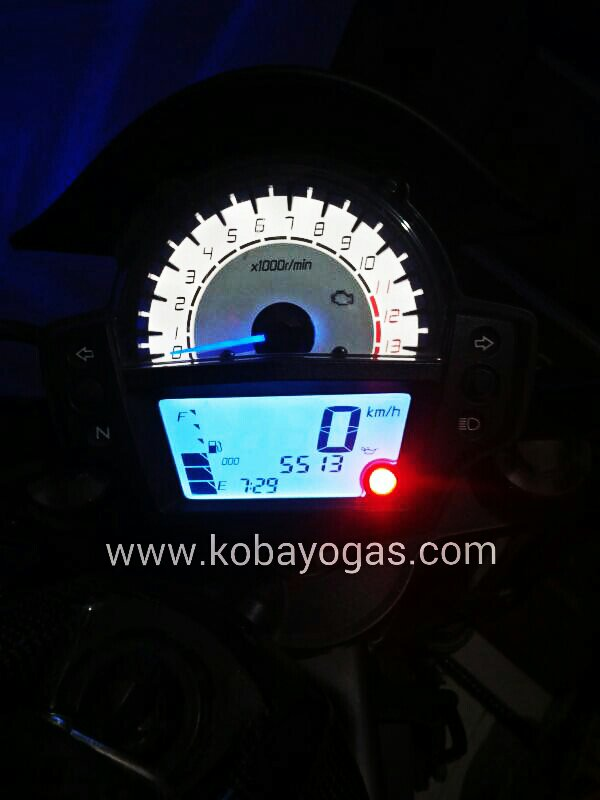 speedometer kawasaki er6n