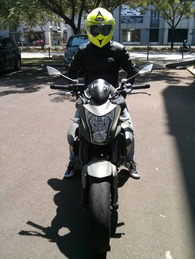 Test Ride Kawasaki ER6N