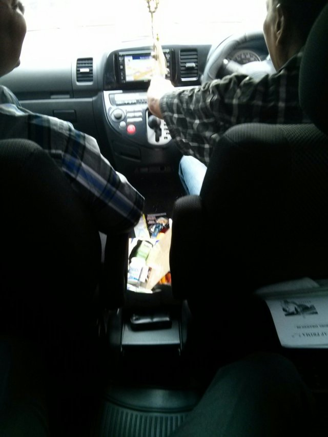 interior Toyota Wish 2006