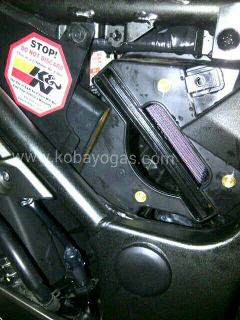 Modifikasi Kawasaki Z250 FI Part 1