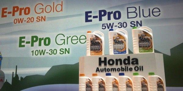 Honda oil