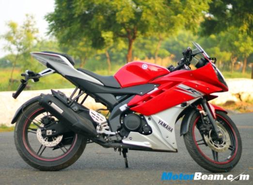 Yamaha r15red