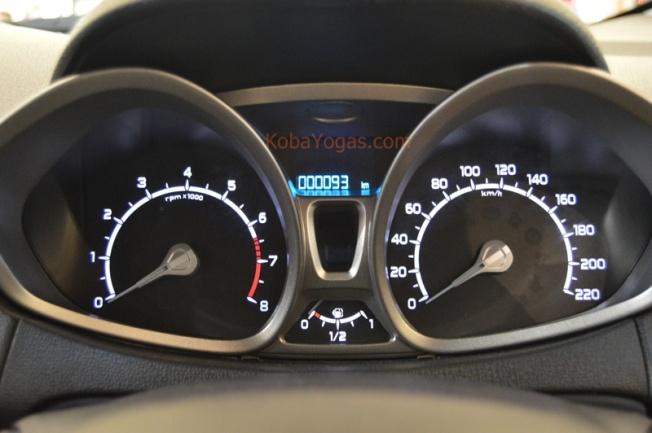 Speedometer futuristik