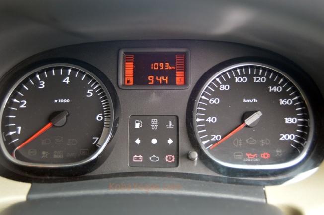 Tidak terdapat MID pada area speedometer