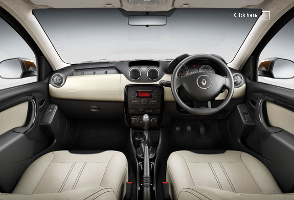 Renault Duster kabin