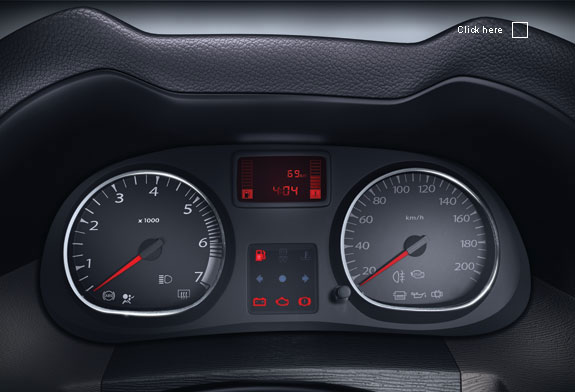 Renault Duster speedo