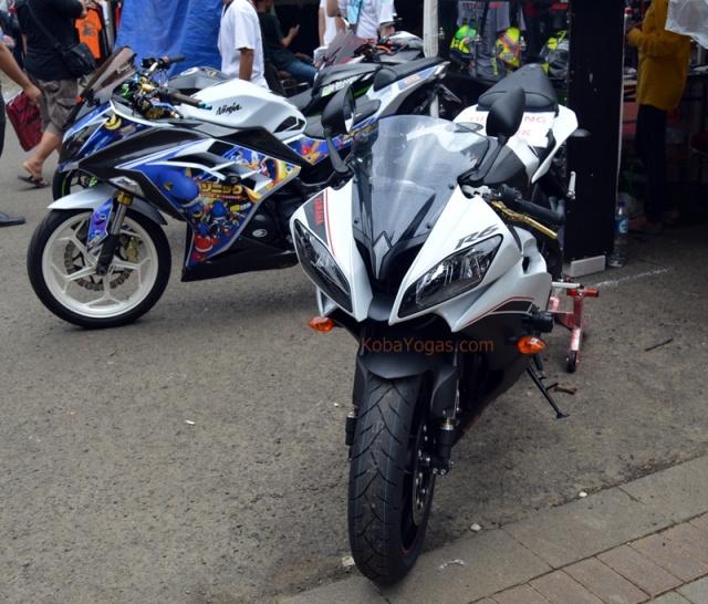 Yamaha R6 depan lapak Jiester