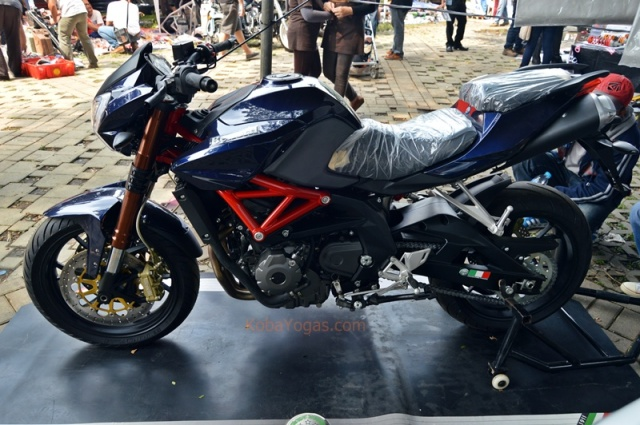 Benelli BN600 at Parjo
