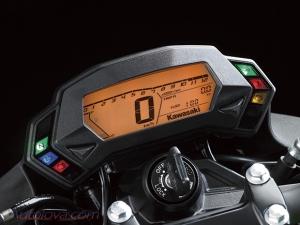 Speedometer serupa dengan yang fairing