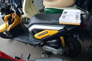 Honda Zoomer X - Terabadikan di Otobursa 2014 - KobaYogas.COM - Your Automotive Blog