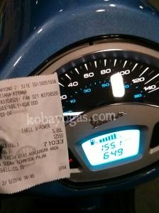 bensin nyaris sampai leher tapi indikator gak full
