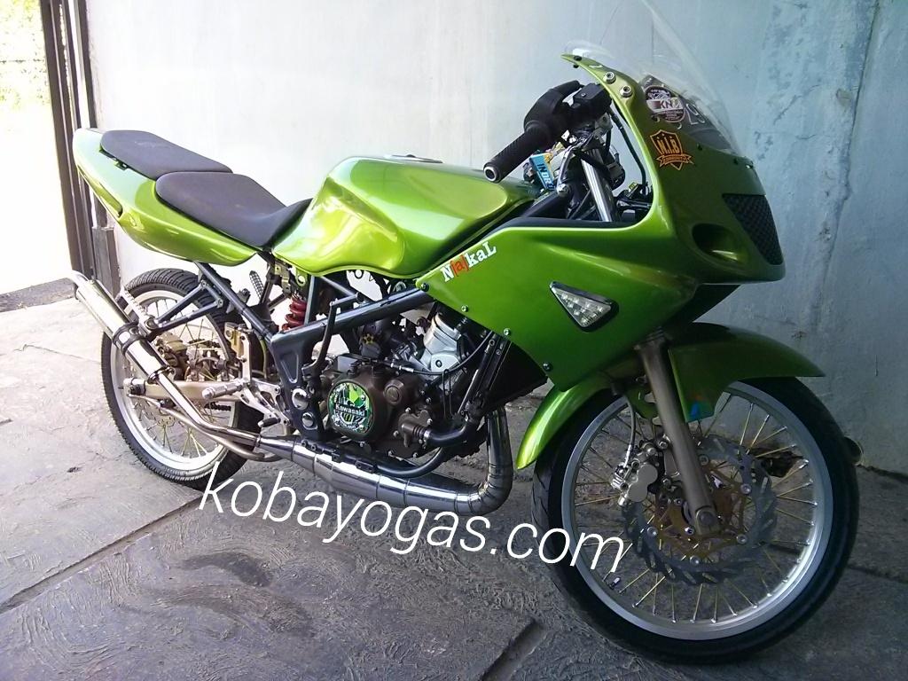 Kumpulan Foto Modifikasi Motor Ninja Rr Super Kips Terbaru