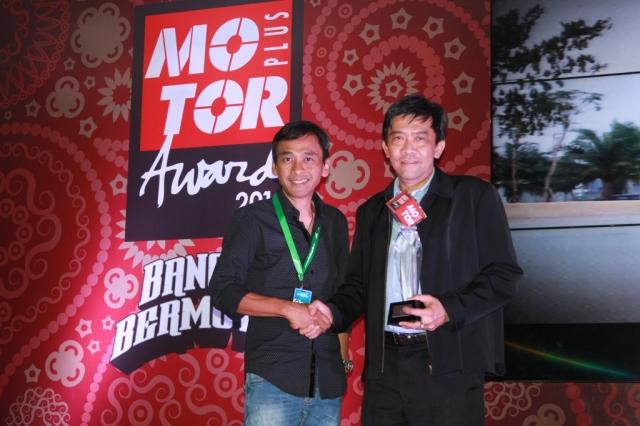 Motorplus award