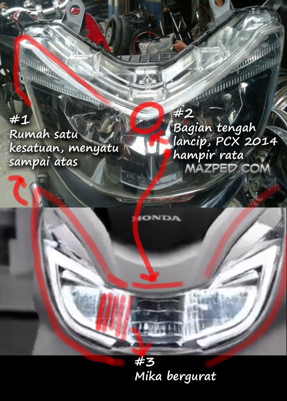headlamp Forza6
