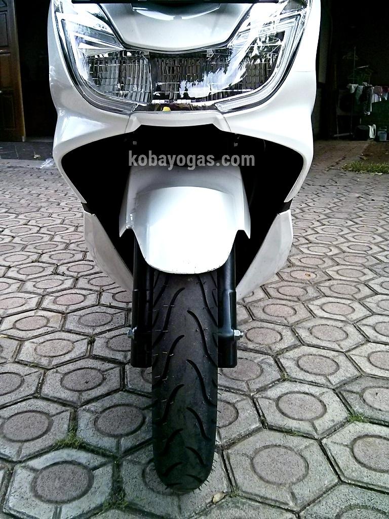 Modifikasi Honda New Pcx Ganti Ban Lebar Biar Lebih Gigit Aspal