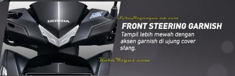 front steering garnish