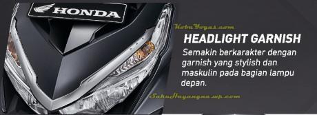 headlight garnish
