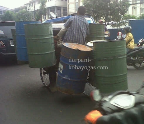 becak 11 drum