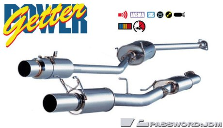 Fujitsubo Power Getter Exhaust System Large