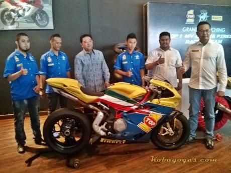 MV Agusta Top 1 PIrelli Racing Team