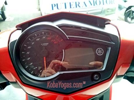 MX King 150 speedo