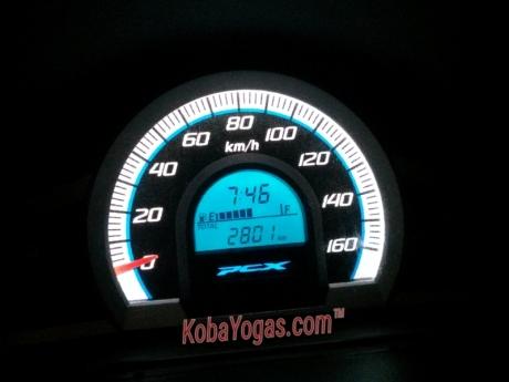 speedometer PCX