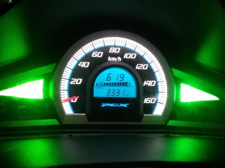 PCX speedo