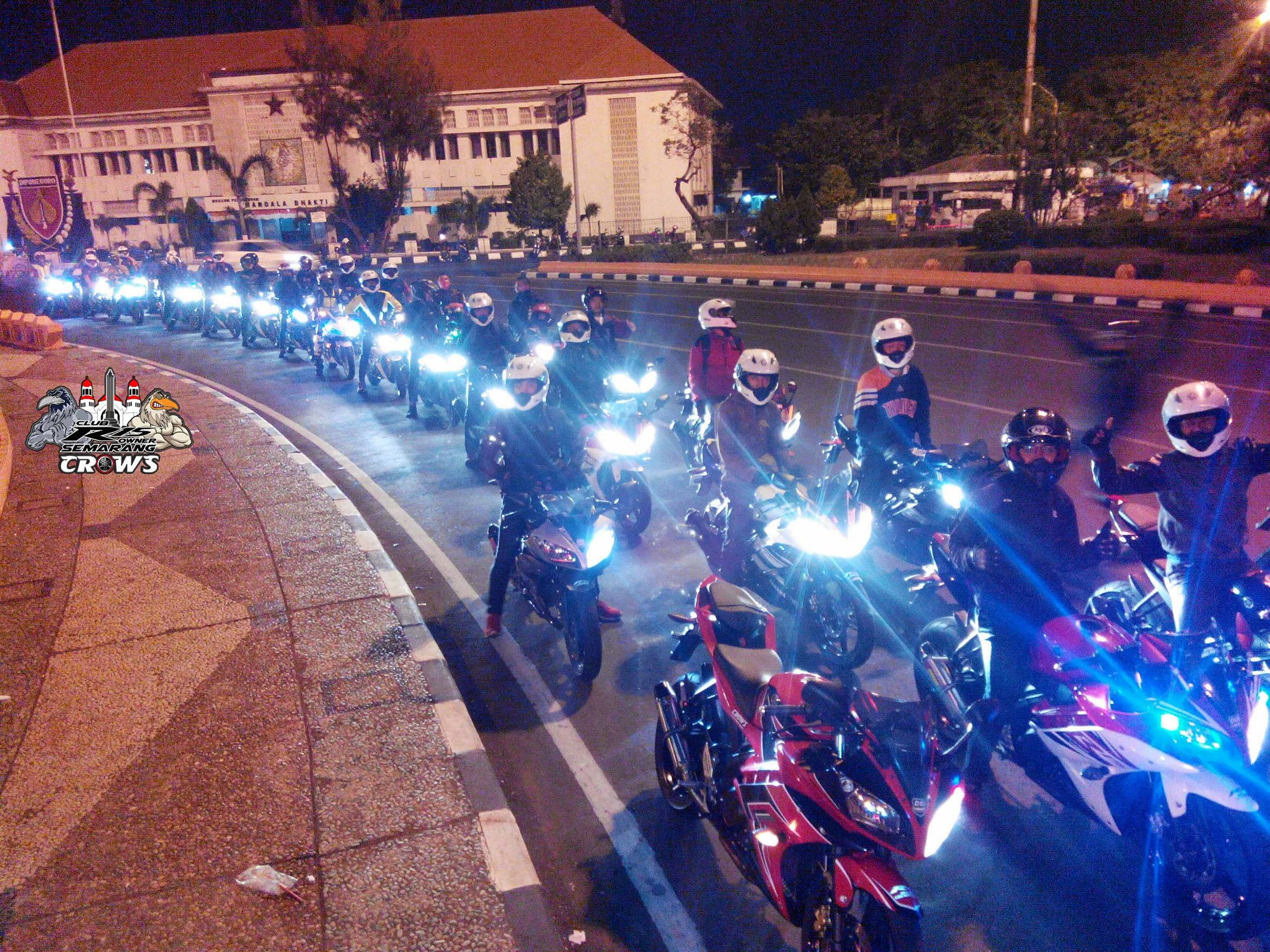 Club R15 Owner Semarang CROWS Gelar Deklarasi Resmi Come And Join