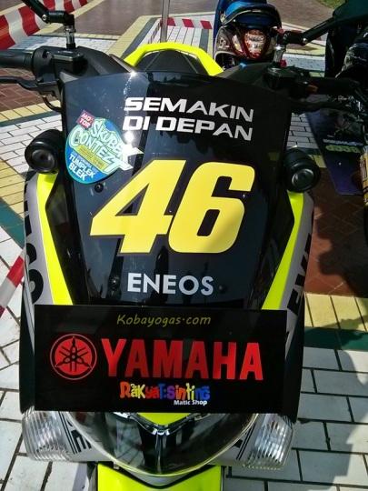yamaha Nmax modif