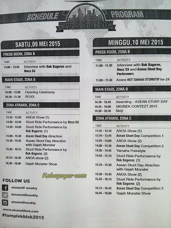 jadwal Otobursa 2015