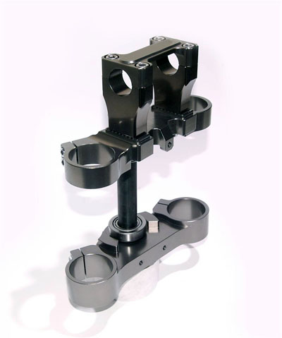 steering stem & upper bracket