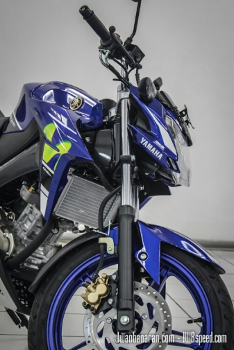 Vixion Advance MotoGP samping