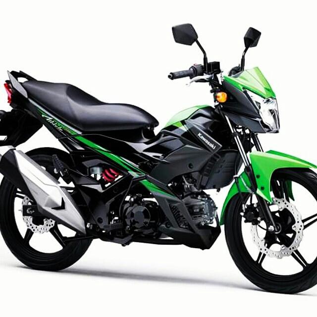 Kawasaki new athlete