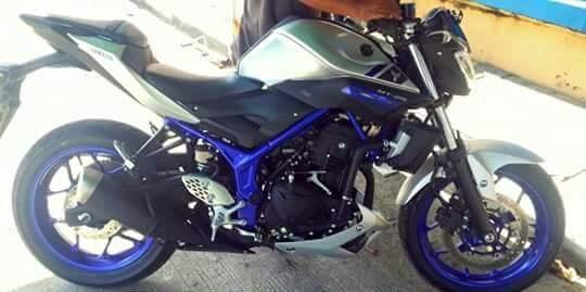 Yamaha MT25 kobayogas