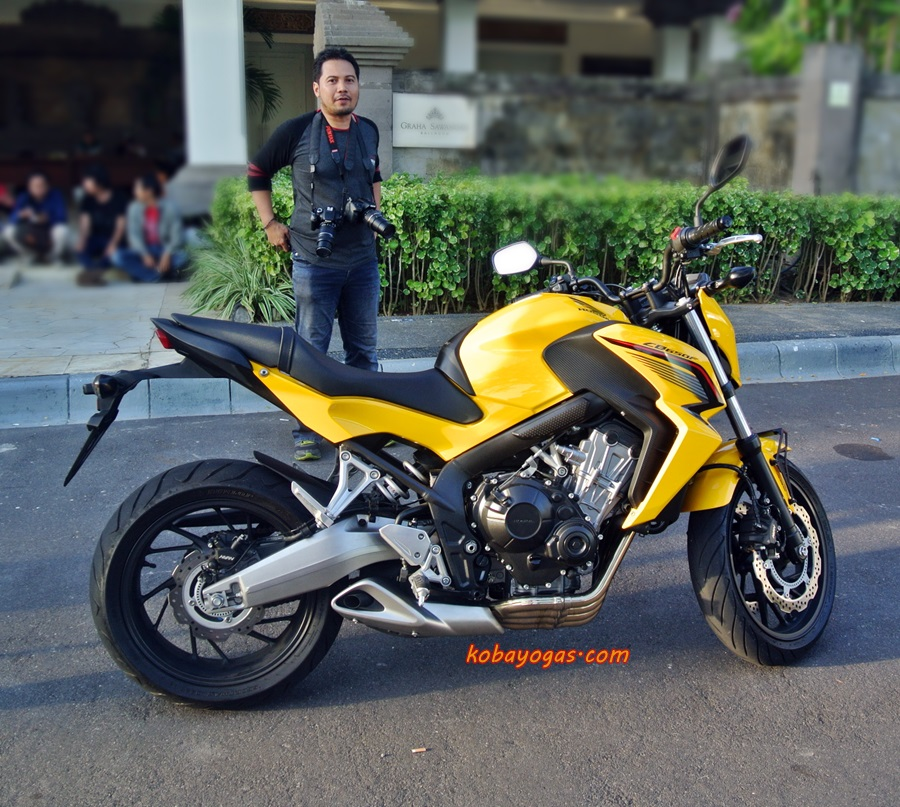 Official Test Ride Moge Honda: CB 650F, The Best of Six