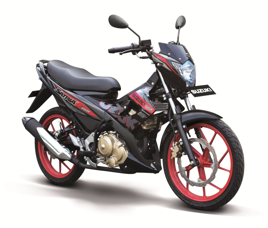 SATRIA F150 SE-Red