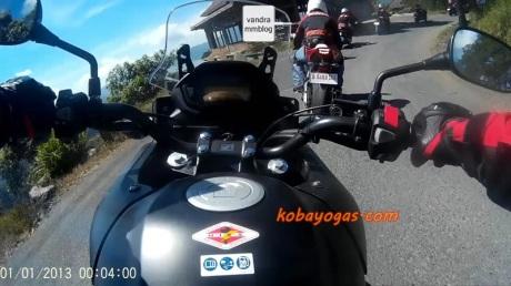 Official Test Ride: Honda CB 500X, Big Bike Adventurer Ternyaman ..!! - KobaYogas.COM - Your Automotive Blog