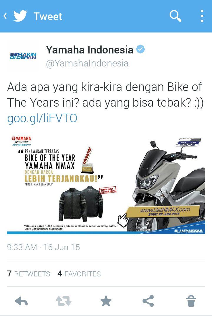 Ini Dia Jaket Eklusif Pembelian Yamaha Nmax Non Abs Lads