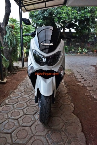 Yamaha NMax Non ABS putih