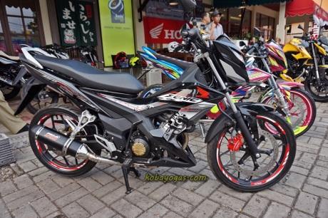 Modifikasi Honda Sonic 150