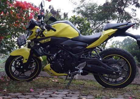 Yamaha MT25 11