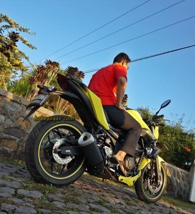 Yamaha MT25 16