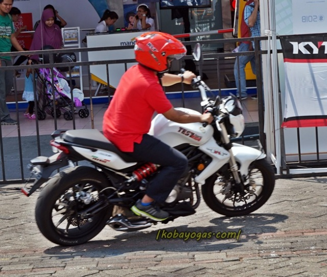 First Ride Benelli Tnt  Suarmerdu Performkok Kaya Gitu