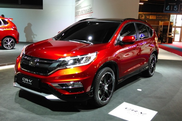 honda-new CRV facelift