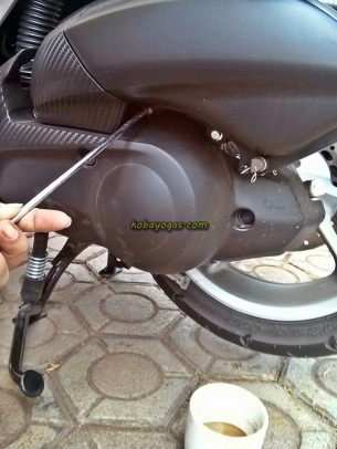 Cover cvt nmax