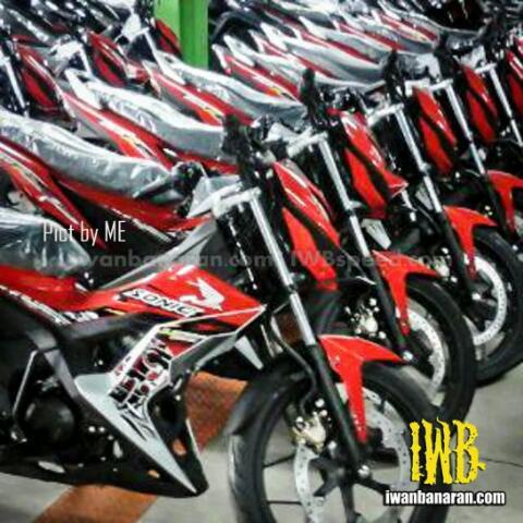 new sonic 150 merah