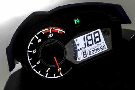 New Yamaha Fazer 150 speedo 2