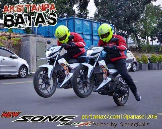 honda sonic test ride